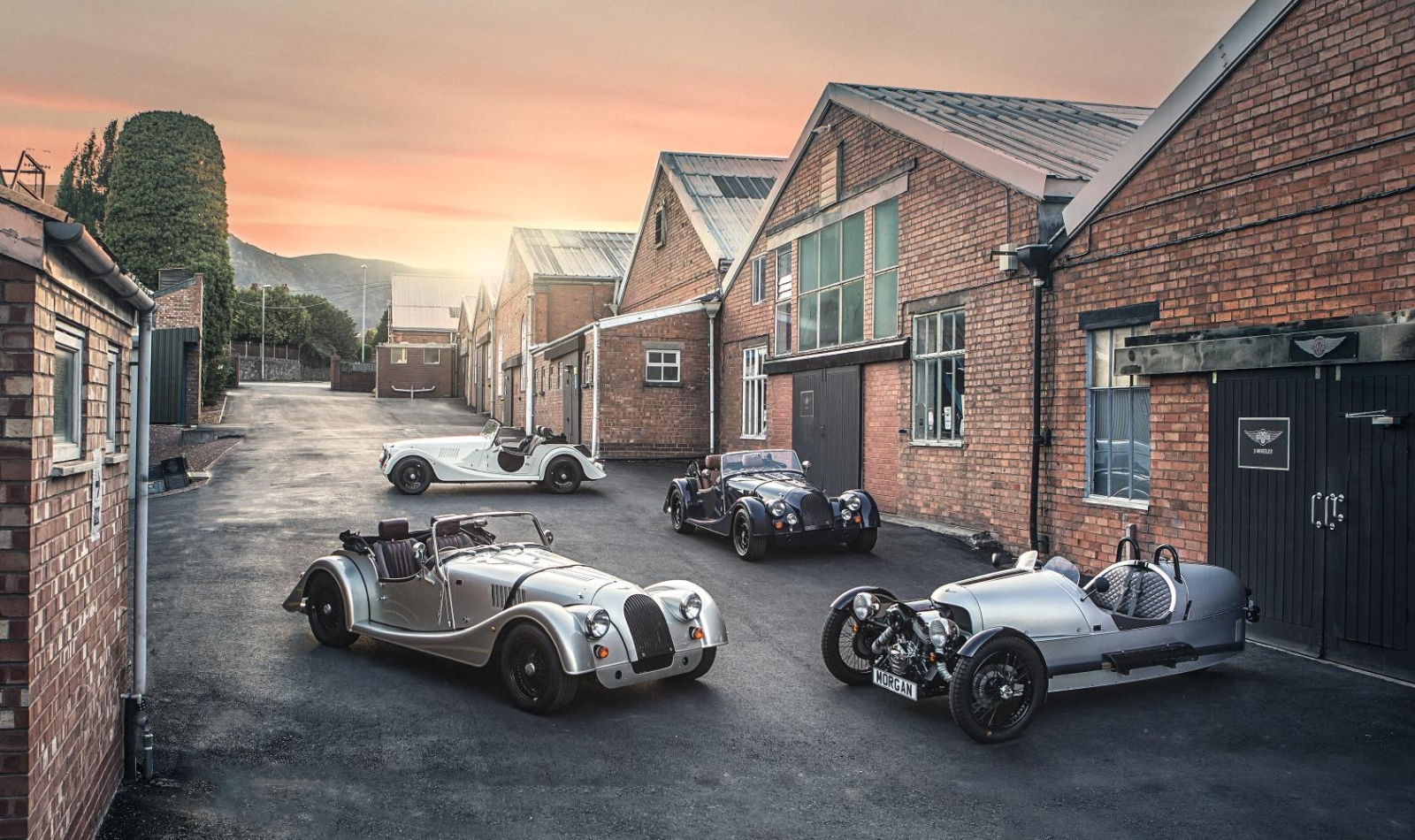 Morgan 110th edition modellen 1