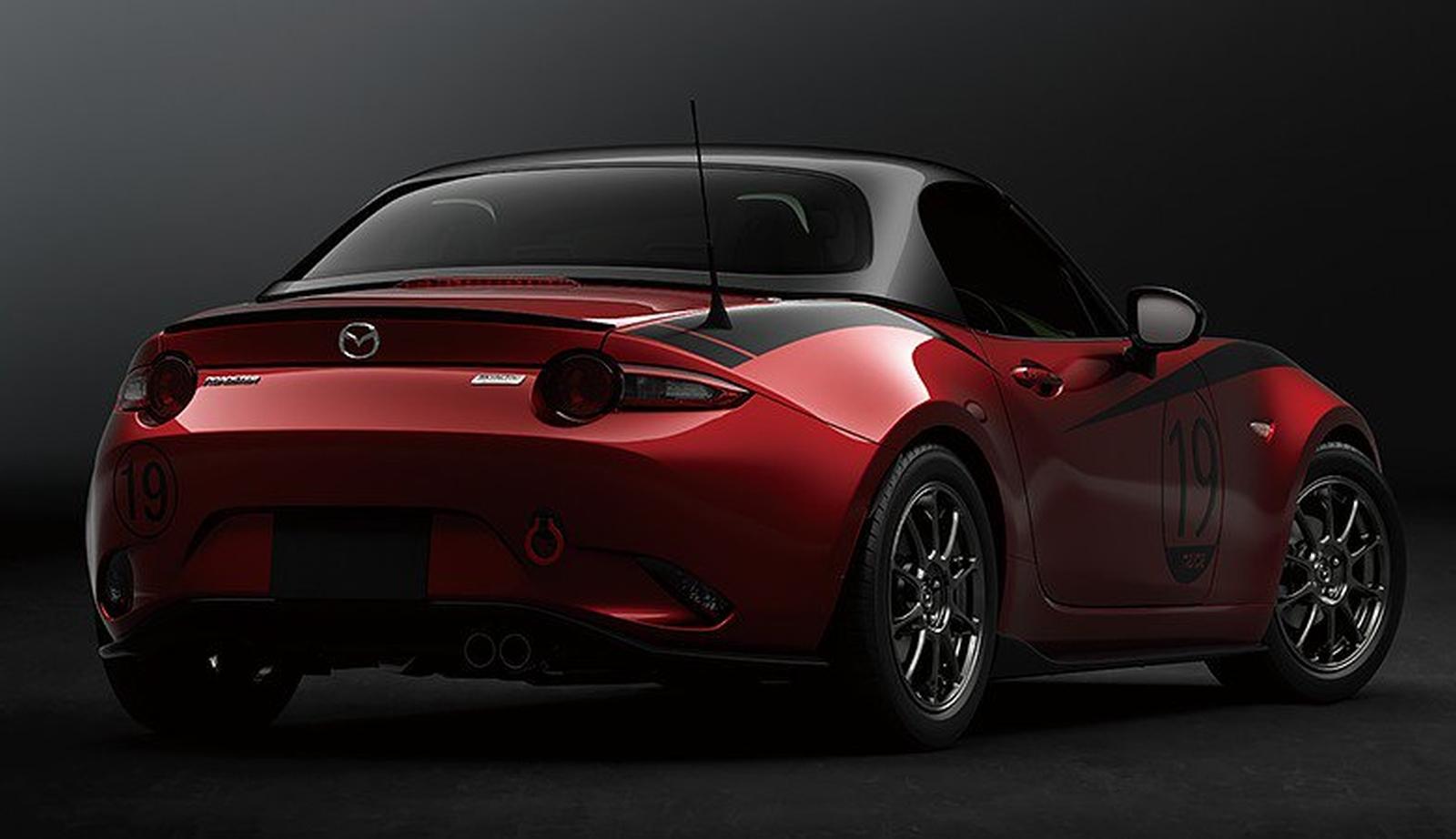 Mazda MX-5 Roadster Drop-Head Coupé Concept 2019
