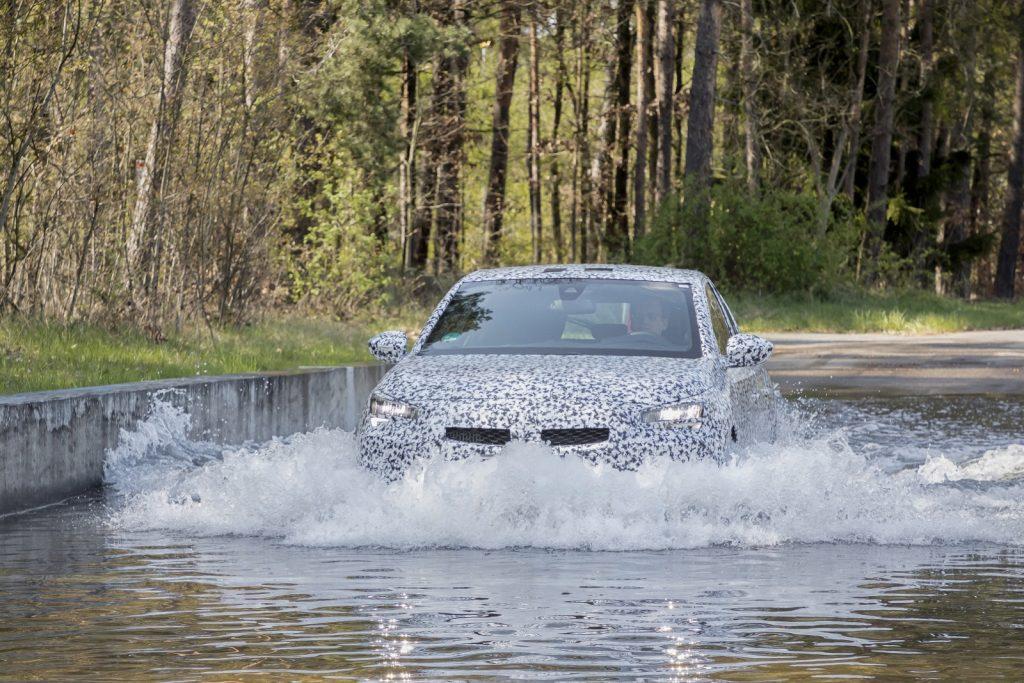 New Corsa test drives at Test Center Rodgau-Dudehofen, April 2019