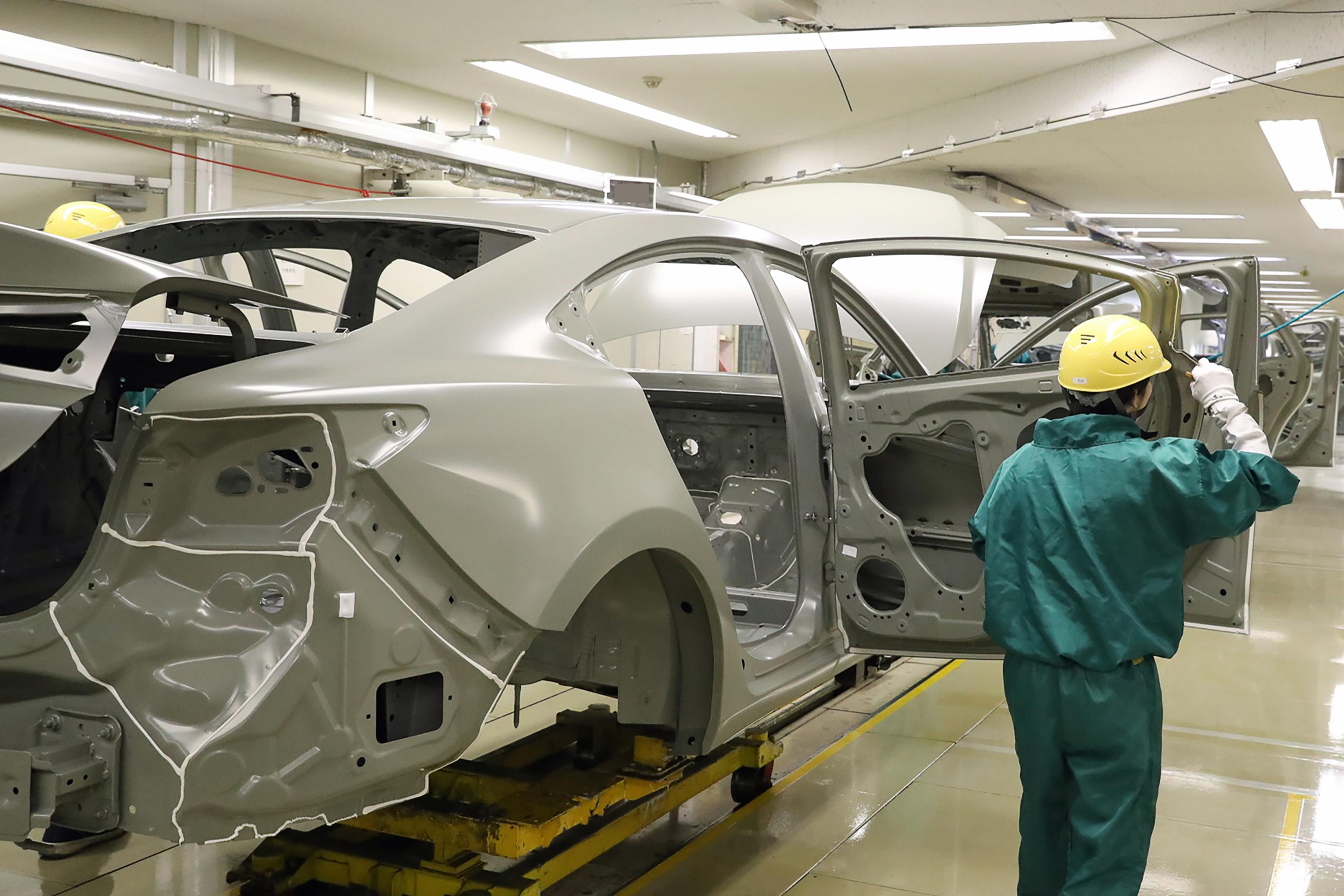 Mazda productie