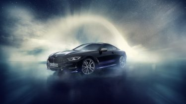 BMW M850i xDrive Night Sky