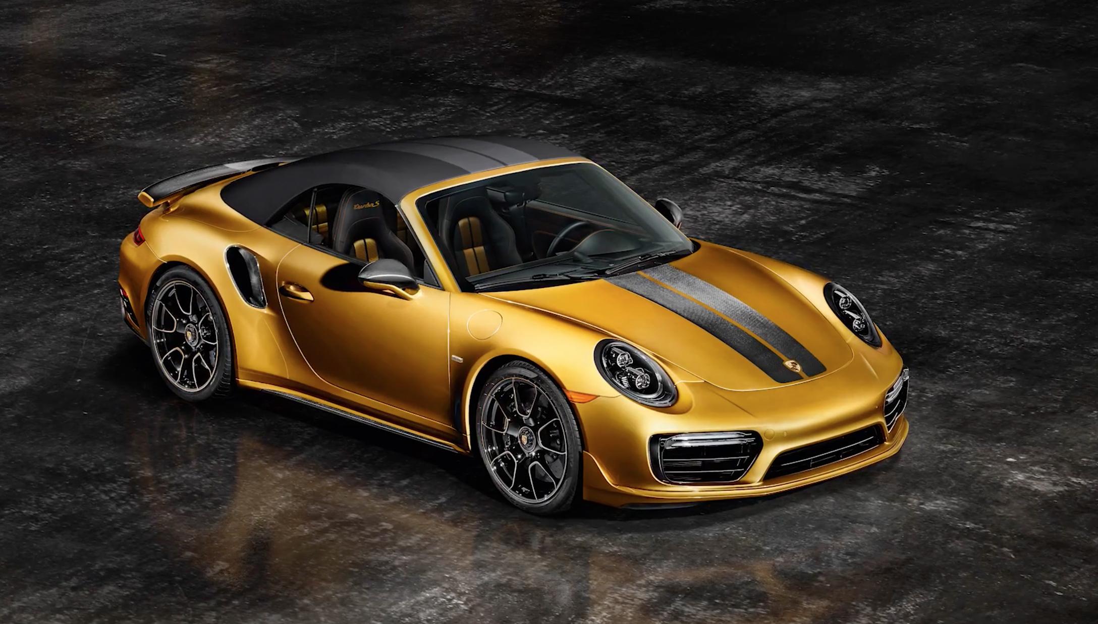 Porsche 911 Turbo s exclusive series Cabriolet