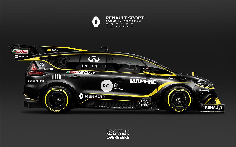 Renault Espace F1 - 2018 - Marco van Overbeeke