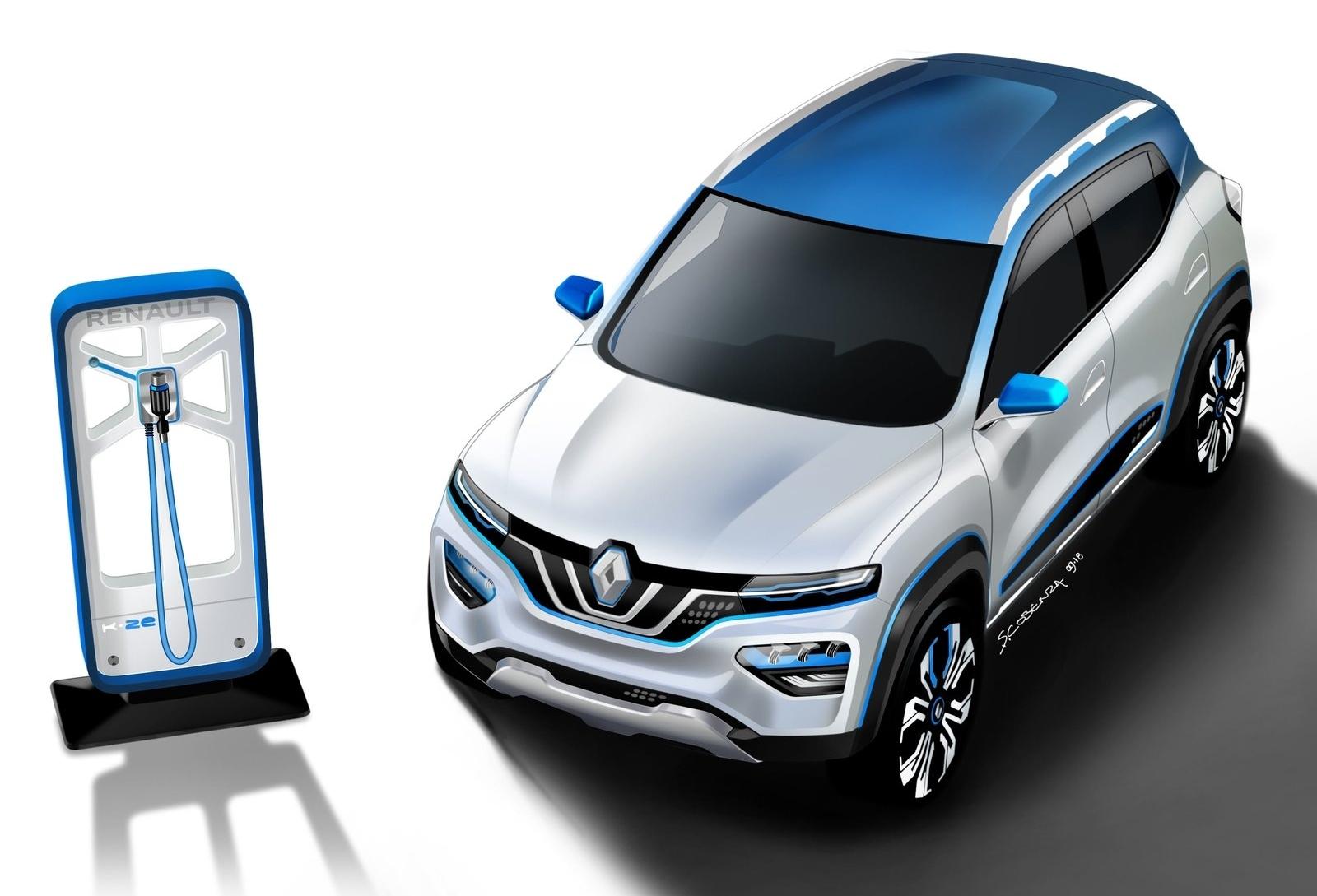 Renault K-ZE Concept (2018) 4