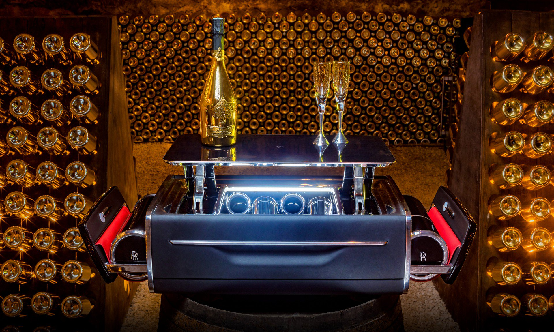 Rolls Royce Champagnekist