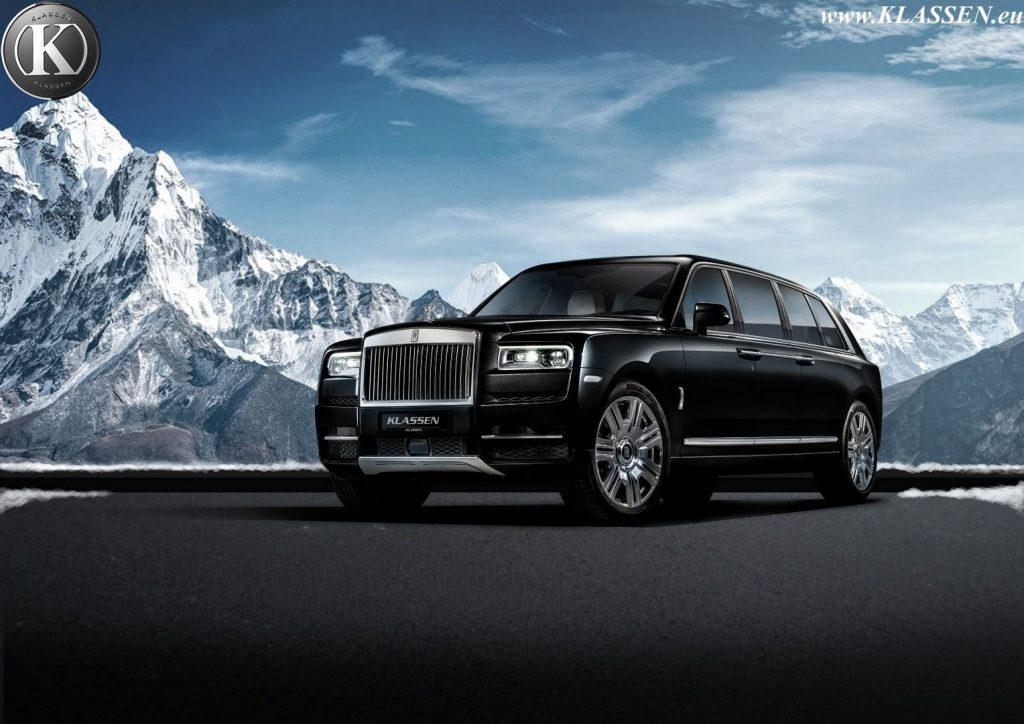 Rolls-Royce Cullinan - Klassen