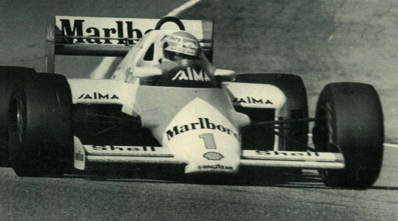 Niki Lauda - Zandvoort 1985
