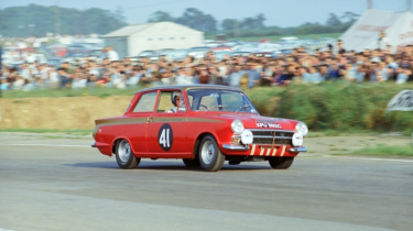 Lotus Cortina Mk1 John Whitmore