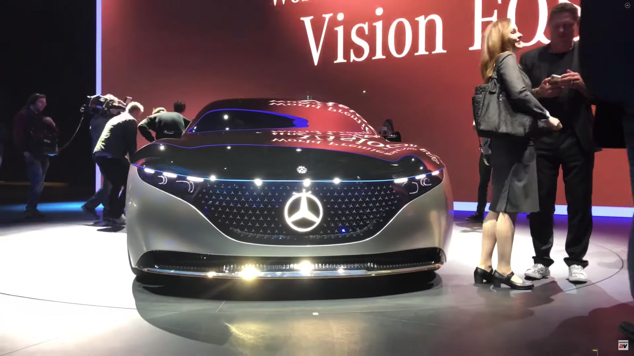 Mercedes EQS IAA