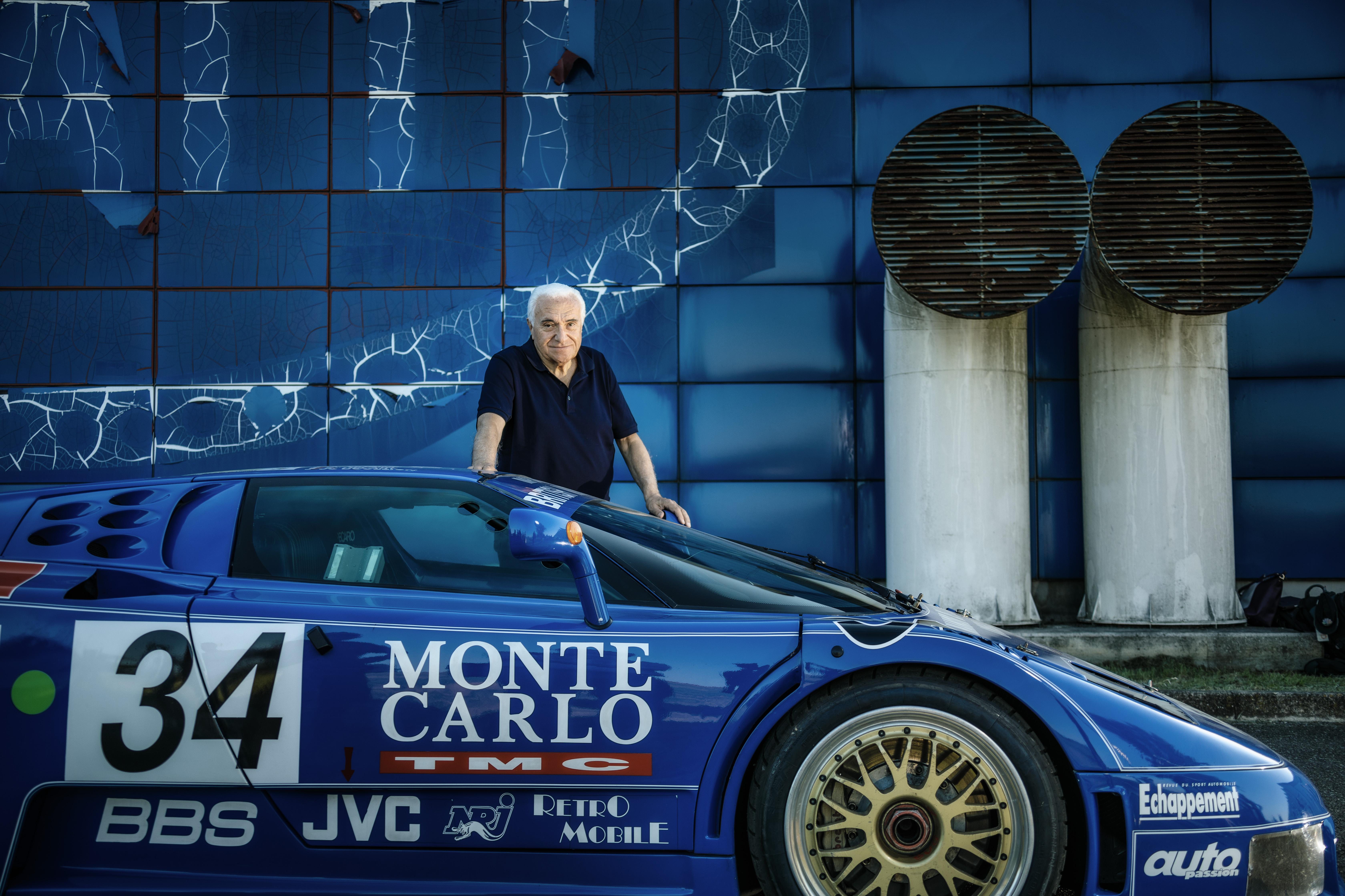 Artioli en de Bugatti EB110