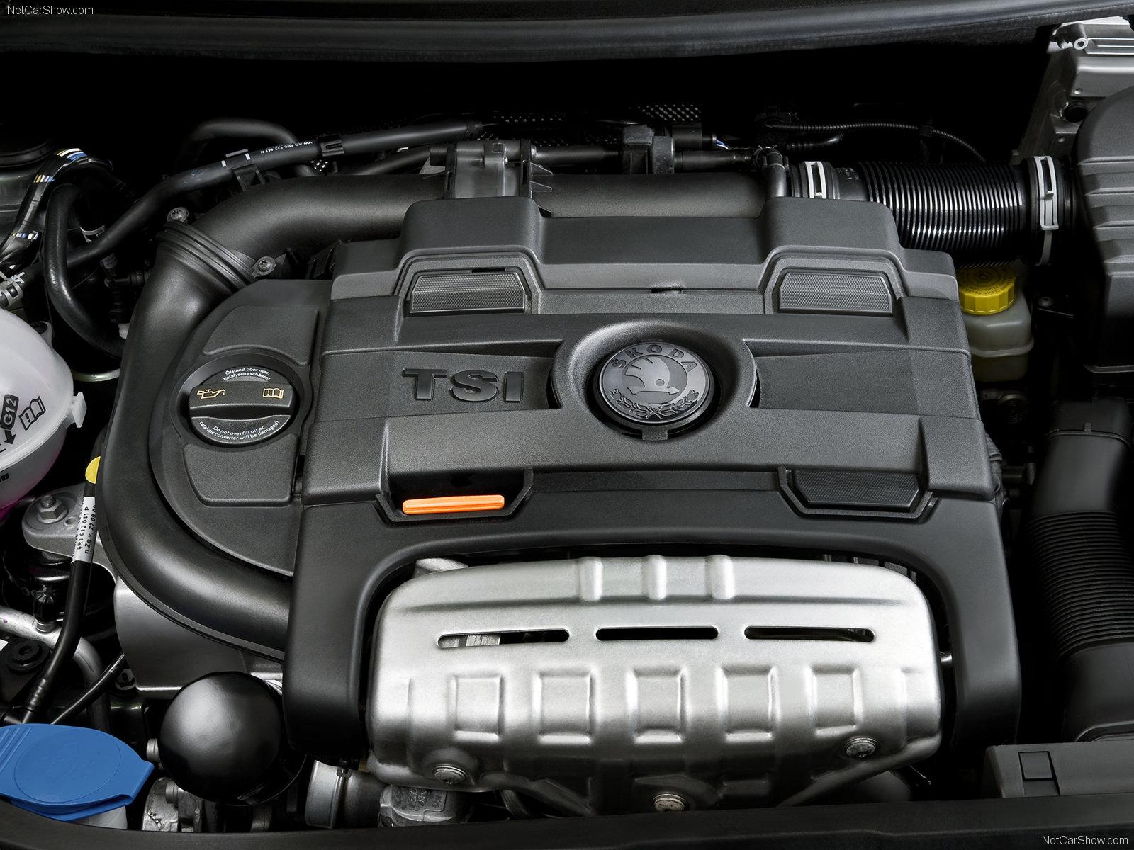 Skoda Fabia motor