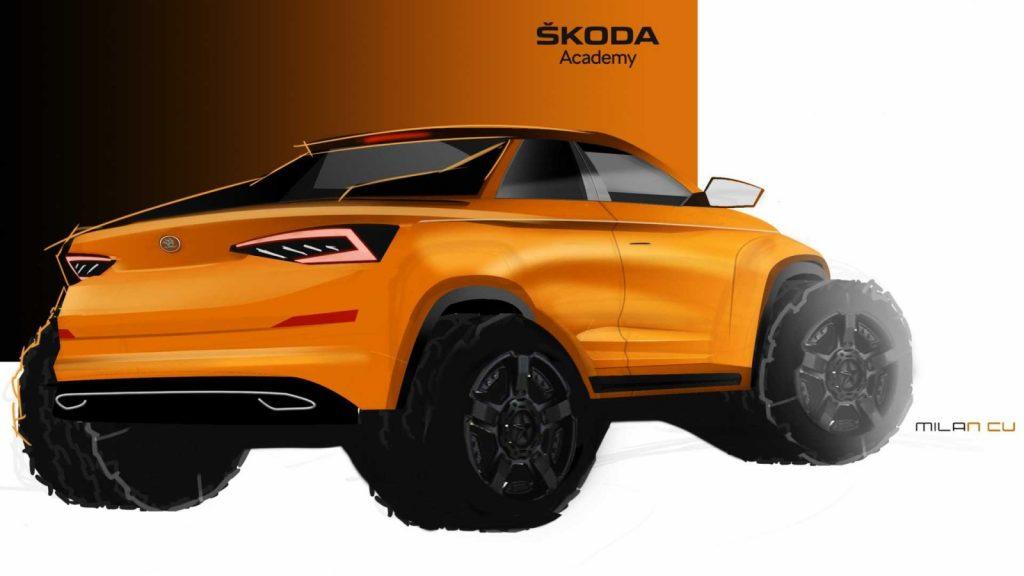 Skoda Kodiaq Pick Up