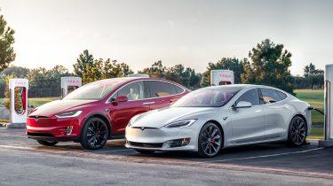 Tesla Model X en Model S