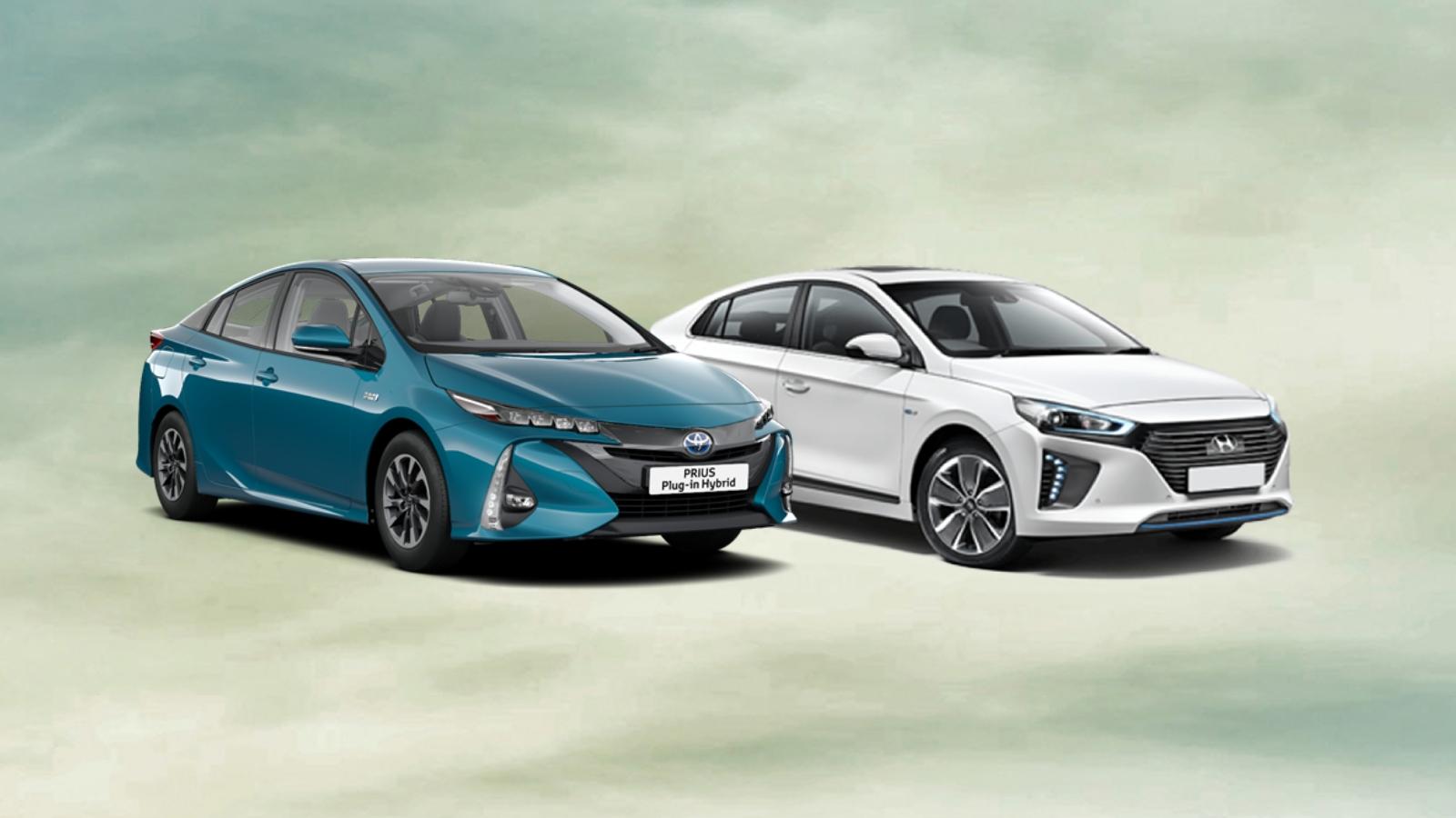 Toyota Prius PHEV versus Hyundai Ioniq PHEV