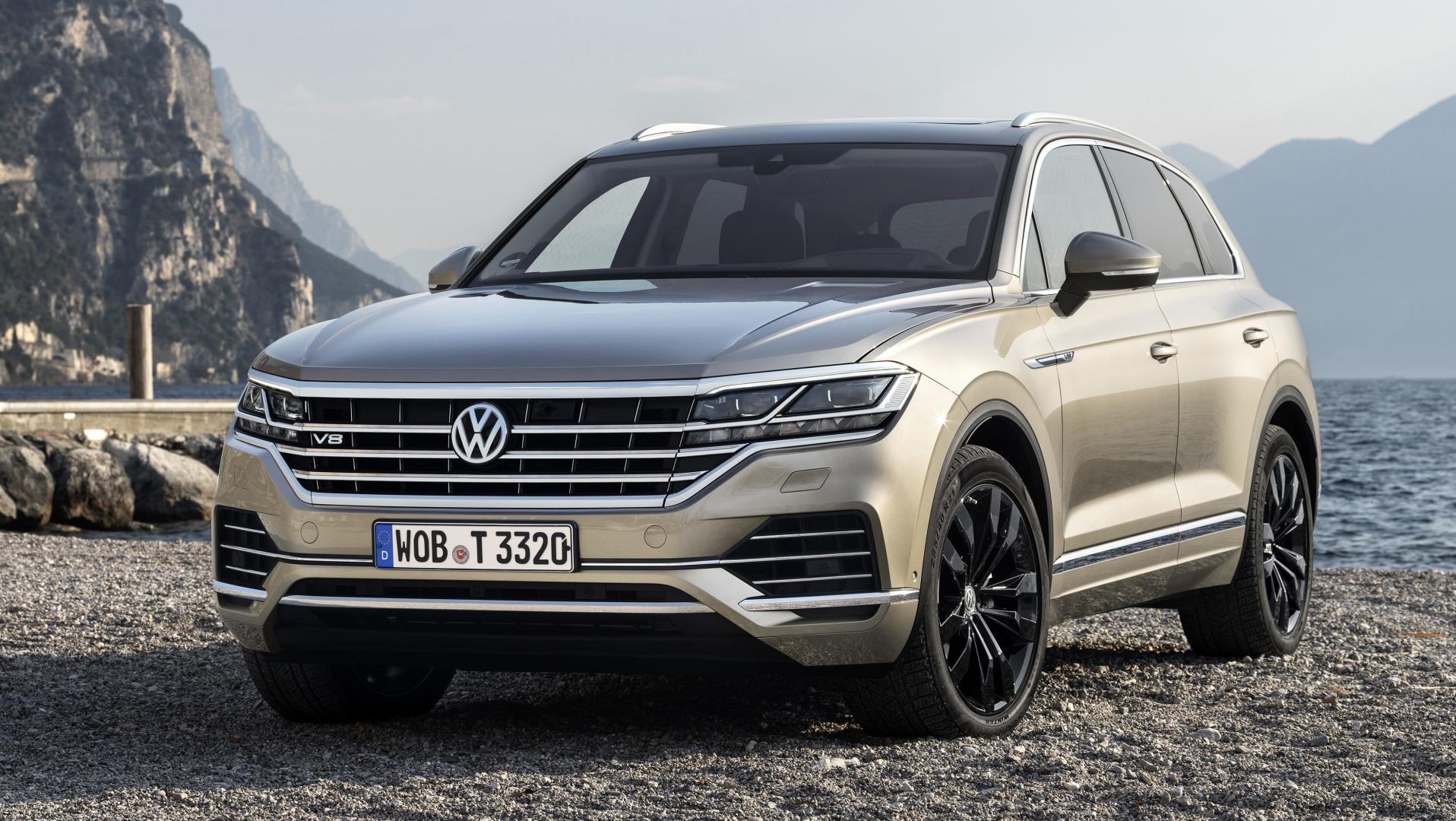Volkswagen touareg 4.0 TDI