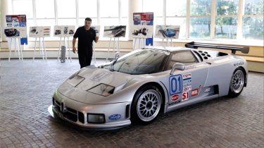 Weetjes Bugatti EB110